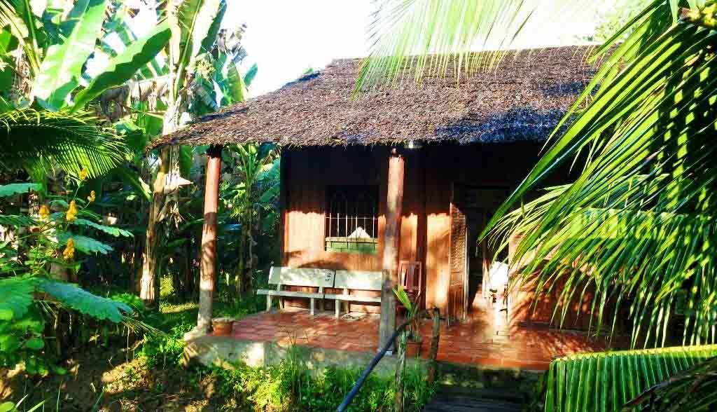 Vietnam Reisen - Der Homestay liegt mitten in Palmenwäldern (Originalbild Mirango Travel)