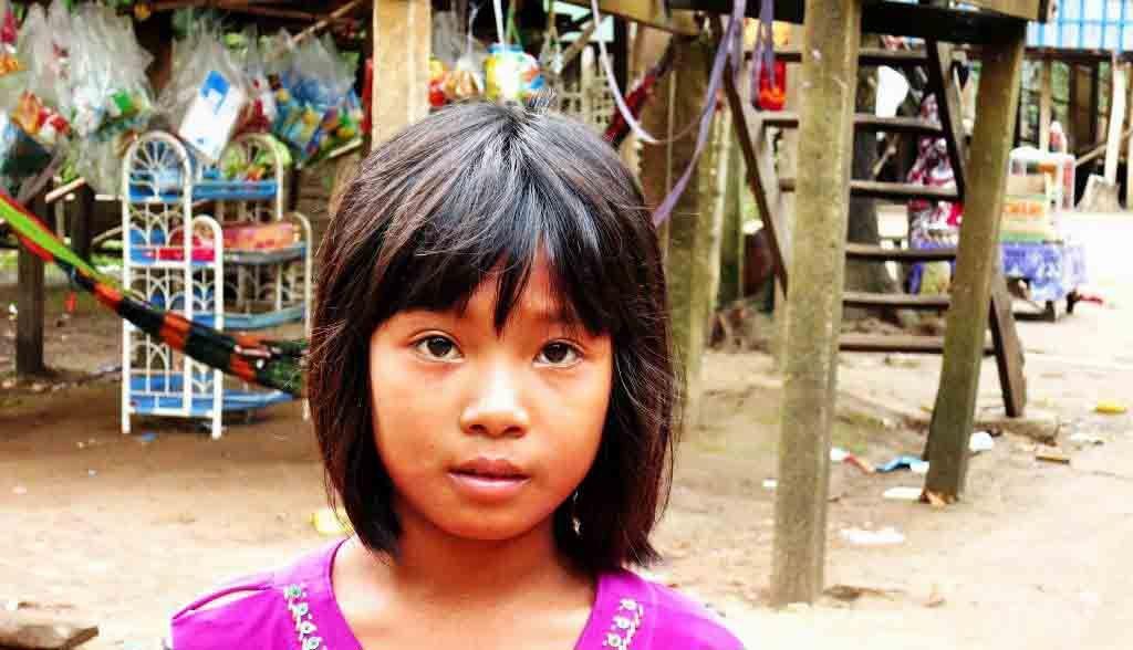 Vietnam Reisen - Mädchen eines Cham-Minderheitendorfs (Originalbild Mirango Travel)
