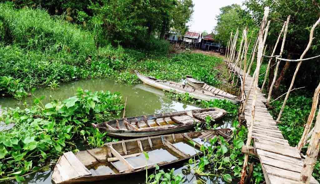 Vietnam Reisen - Auf dem Weg zum Cham-Minderheitendorf, Chau Doc (Originalbild Mirango Travel)
