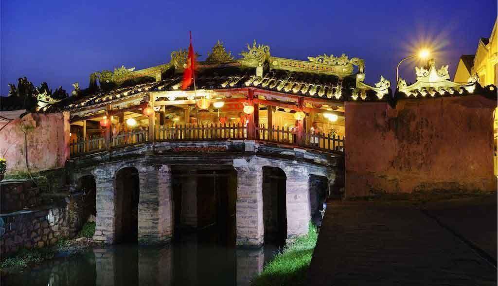 Vietnam Reisen - Die Japanische Brücke ist das Wahrzeichen von Hoi An