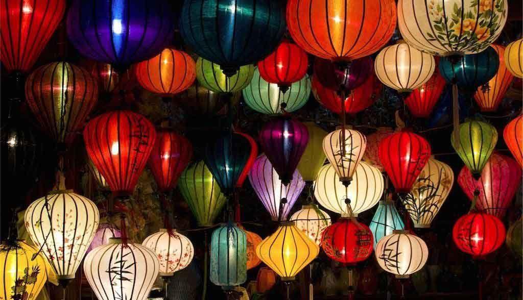 Vietnam Reisen - Typische Laternen in Hoi An