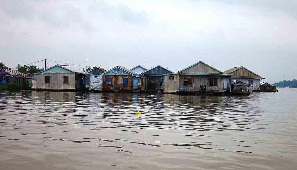Vietnam Reisen - Schwimmende Dörfer bei Chau Doc (Originalbild Mirango Travel)