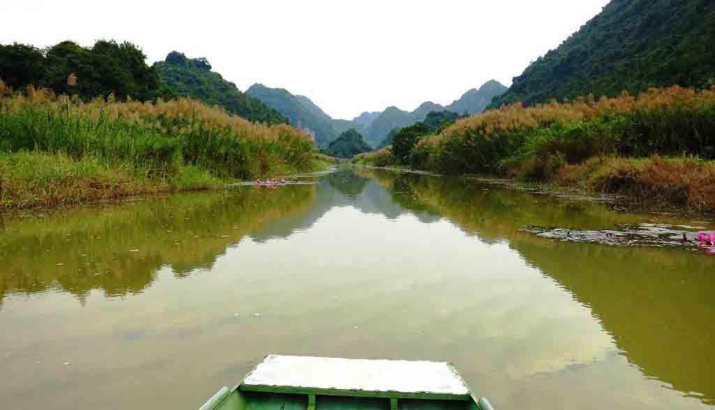Vietnam Reisen - Wunderbare Landschaft in Tac Coc, Ninh Binh (Originalbild Mirango Travel)