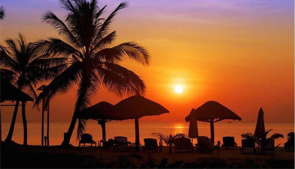 Vietnam Reisen - Sonnenuntergang in Phu Quoc