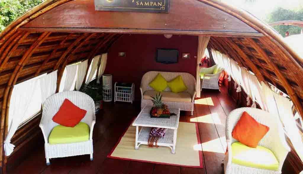 Vietnam Reisen - Ihr Wohnzimmer auf dem Boot (Originalbild Mirango Travel)