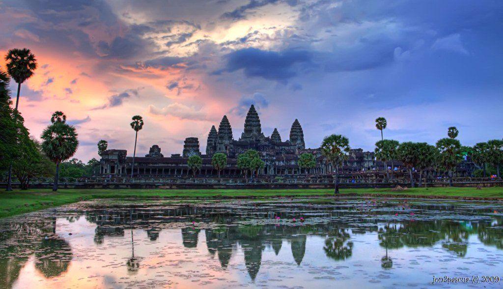 Angkor Wat Tempel in Kambodscha